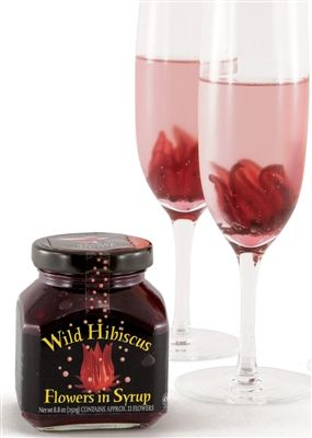 Wild Hibiscus Flowers In Syrup From Australia Hibiscus Christmas Drinks Hibiscus Flowers