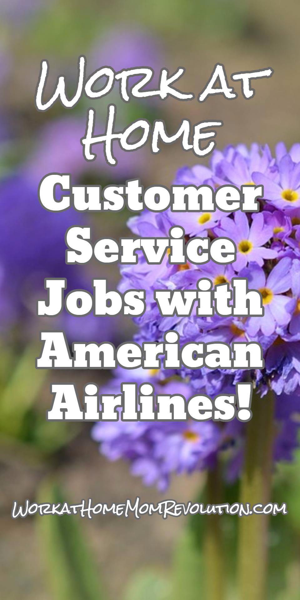 American Airlines Hiring Work At Home Customer Service Agents Work At Home Mom Revolution Work For Hire Customer Service Jobs Work From Home Moms