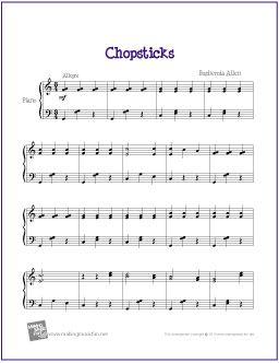 Chopsticks Free Sheet Music For Intermediate Piano Http