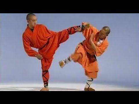 ▶ Shaolin Kong fu Basic Training 4: stretching training methods ...