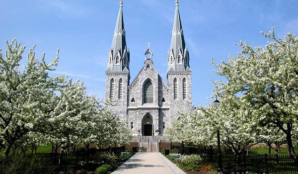 The Chapel At Villanova University In The Spring My Alma Mater Favorite Places Villanova University Villanova
