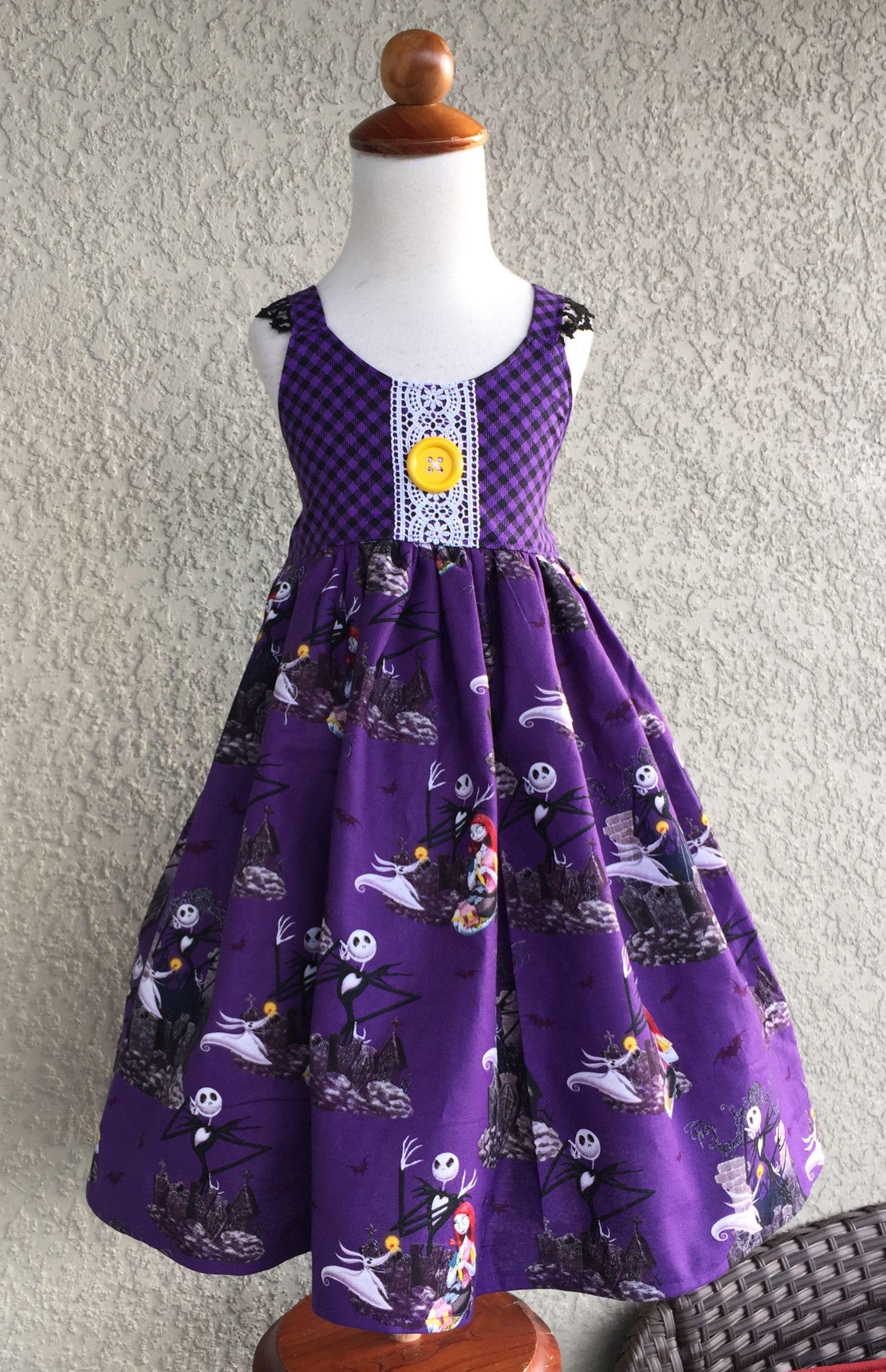Jack Skellington Nightmare Before Christmas Hummingbird Dress ...