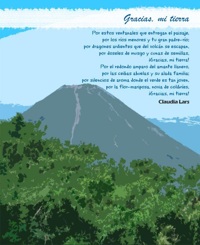 Estrofas Del Poema Gracias Mi Tierra De Claudia Lars