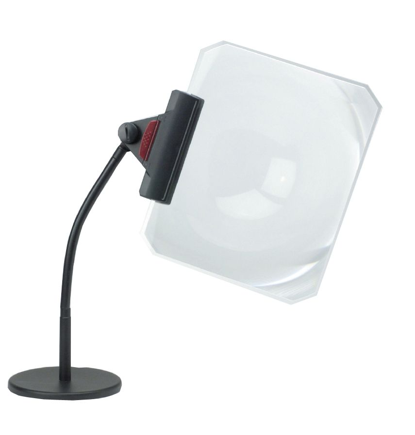 Clarity Goose Neck Full Page Magnifying Glass 3x Magnifying