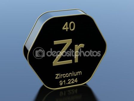 Circonio de tabla peridica en negro brillante icono elementos circonio de tabla peridica en negro brillante icono urtaz Choice Image