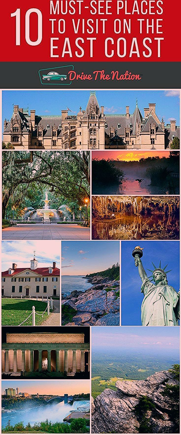 Photo of 10 Must-See Places to Visit On the East Coast | Drive the Nation