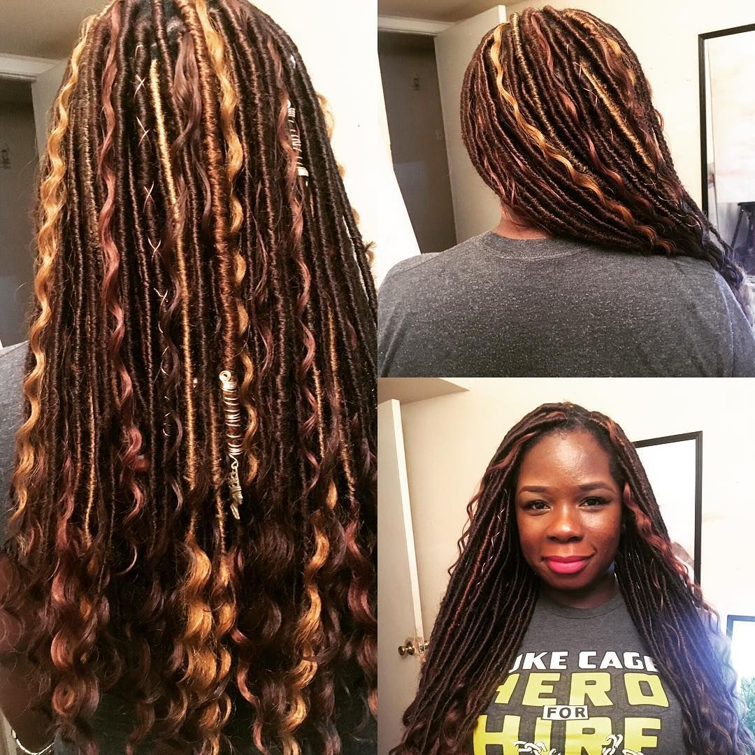 The Best Faux Locs Tutorial Try On Hairstyles Crochet Hair