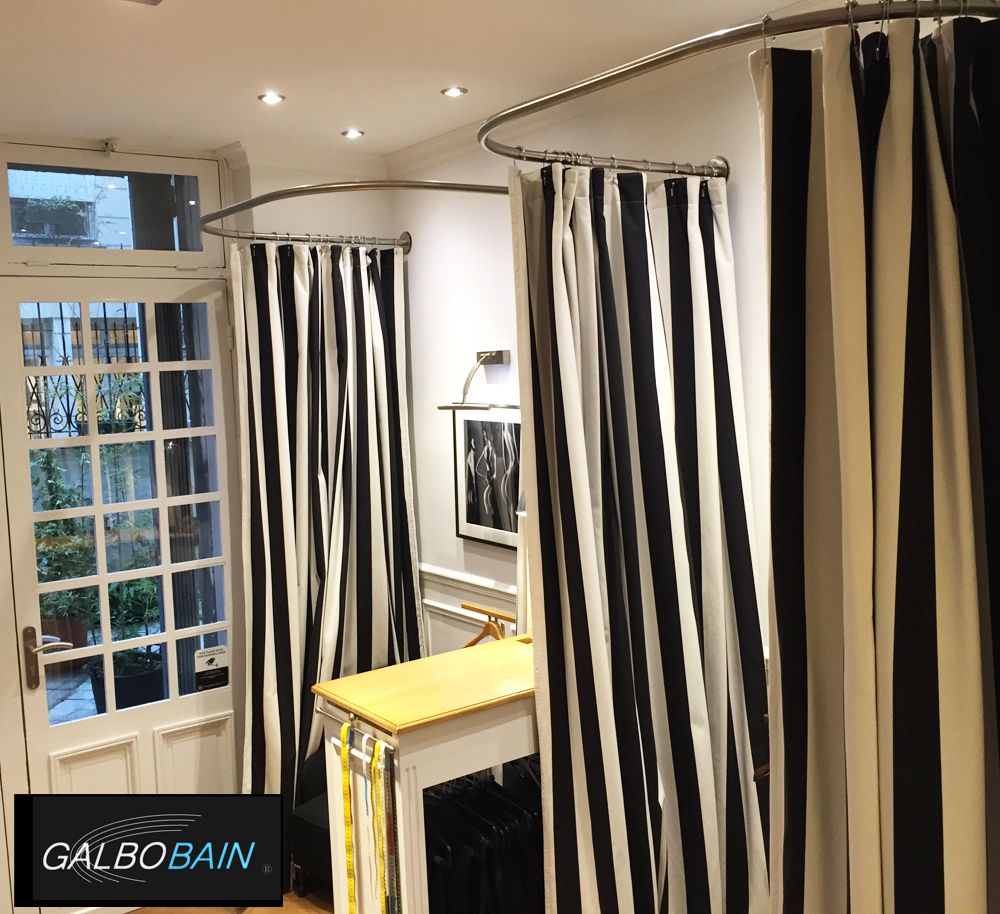 Fixation De Rideau Au Plafond galbobain réalise deux barre en u sur-mesure en fixation