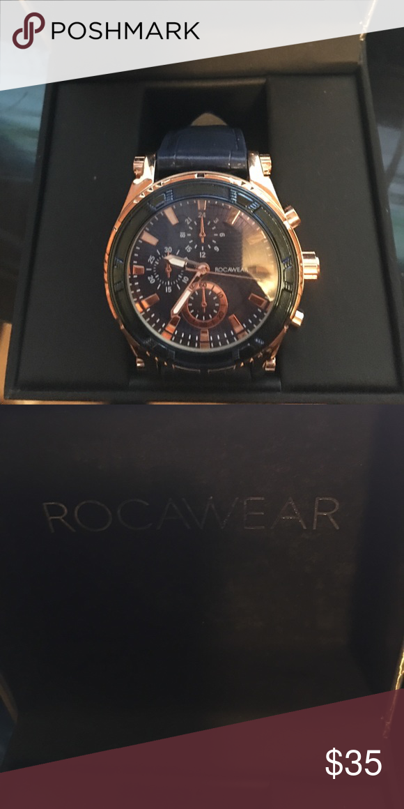 Rocawear Watch My Posh Closet Pinterest Blue And Gold Watch