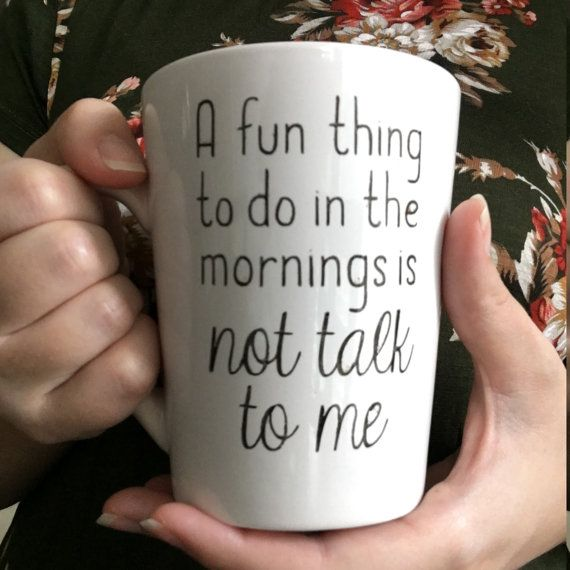 14 oz Coffee Mug A fun thing to do...not talk by OutoftheWoodsTX