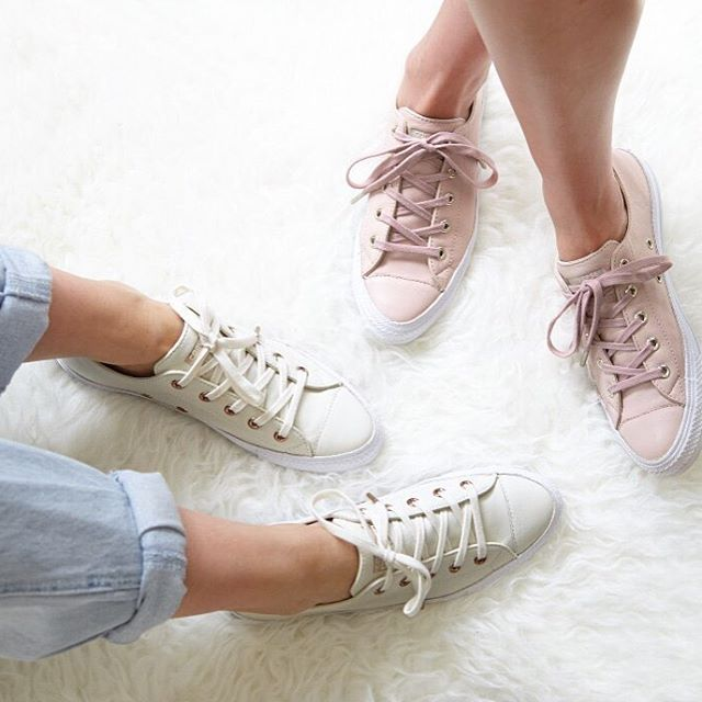 converse holiday collection rose gold