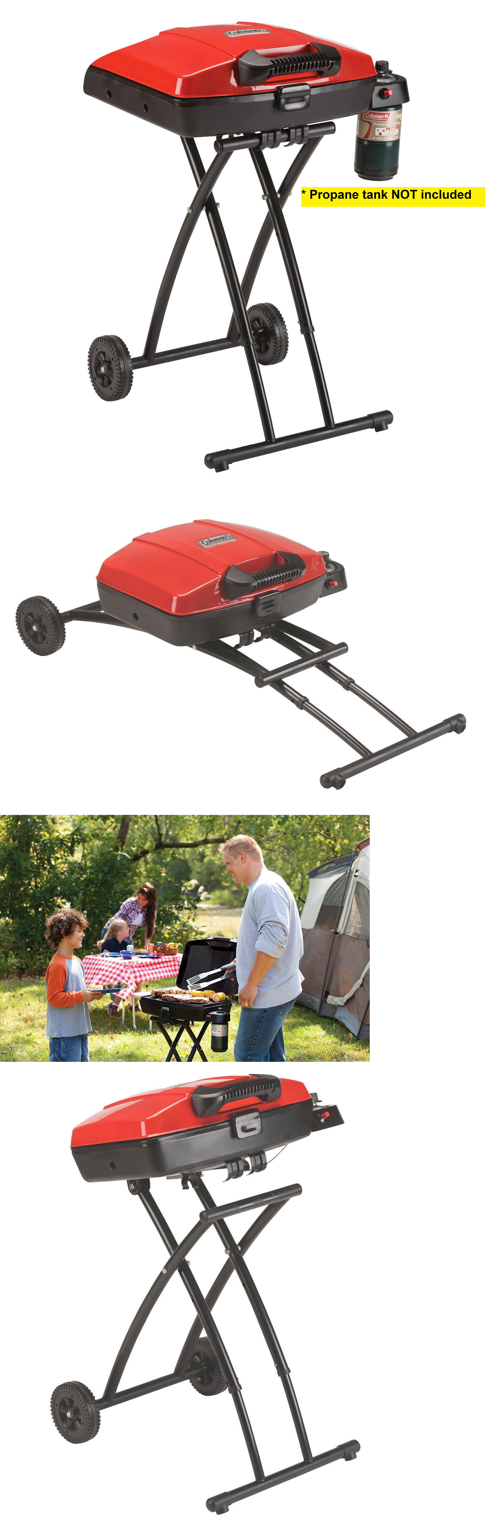 Camping BBQs and Grills 181388: **Brand New** Coleman Road Trip Sportster Propane Grill - Portable -> BUY IT NOW ONLY: $114.75 on eBay!