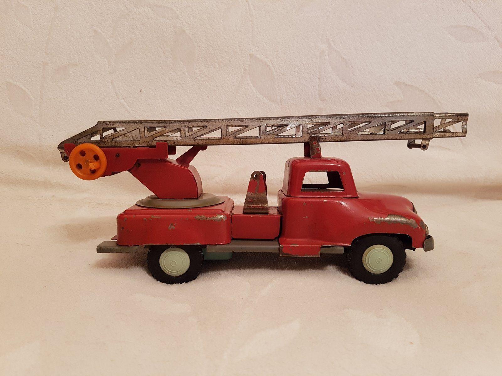Stara Kultowa Zabawka Metalowa Straz Pozarna 7402160703 Oficjalne Archiwum Allegro Wooden Toy Car Toy Car Wooden Toys