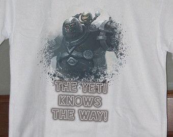League of Legends Shirt Nunu Quote LoL Mens Tshirts Womens Tshirts ...