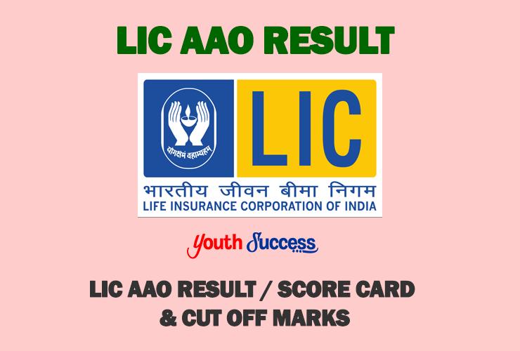 Lic Aao Results 2019 Prelims Exam Lic Aao Result Marks 2019