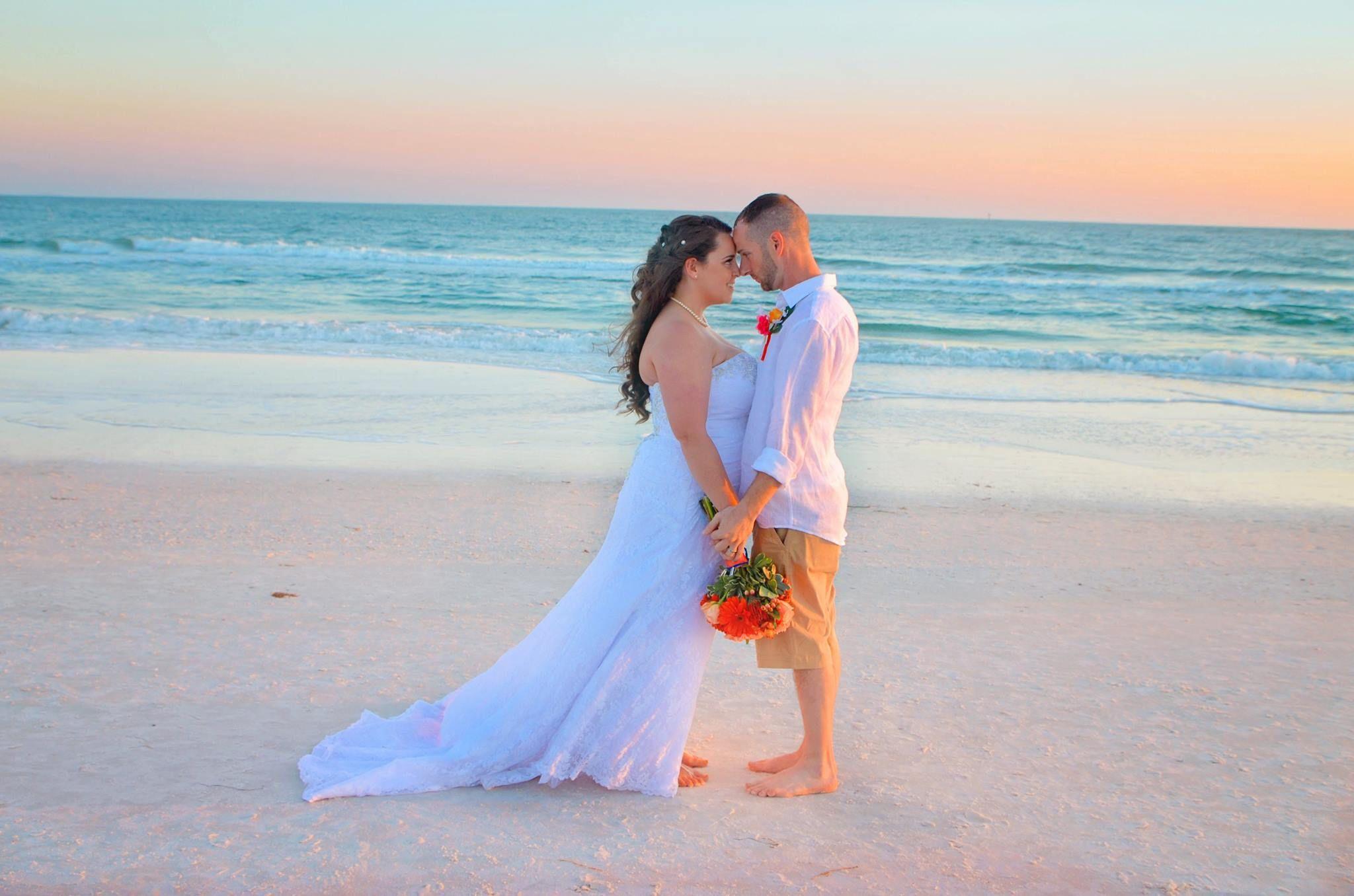 Panama City Beach Wedding Ceremony With Bamboo Arbor Panama City Beach Wedding Wedding Beach Ceremony Diy Beach Wedding