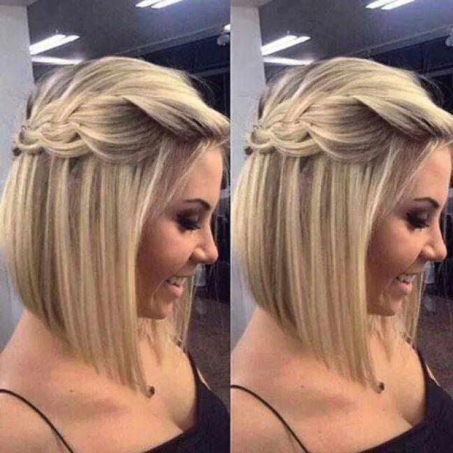 Peinados De Trenzas Hermosos Para Cabello Corto Soy Moda Peinados Pelo Corto Mujer Peinados Pelo Corto Peinados Cabello Corto