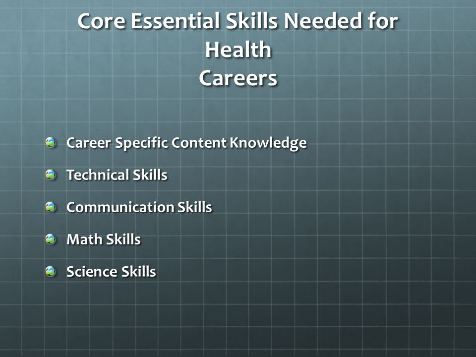 Image Result For Health Science Skills Necessary Pictures Science Skills Health Careers Health Science