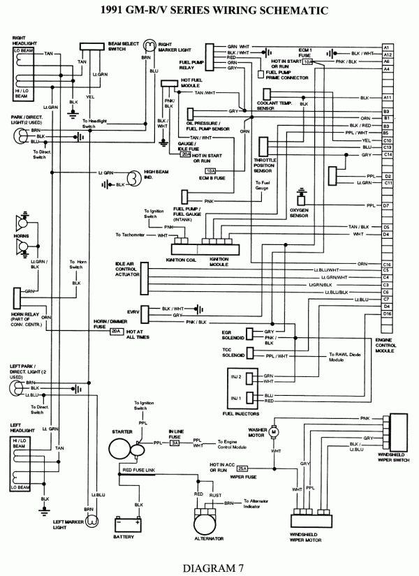 10  1995 Chevy Silverado Engine Wiring Diagram