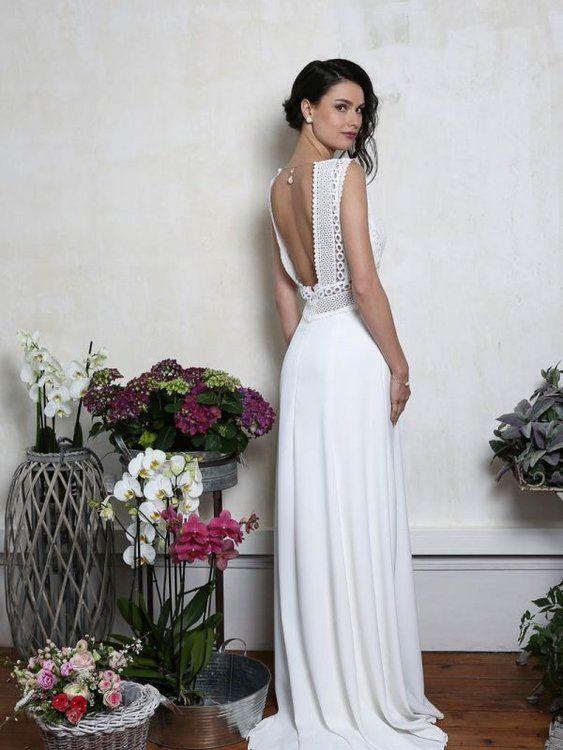 Robes de mariée Elsa Gary 2020 : légèreté, élégance et naturel pour cette nouvelle collection ! #légèreté, #Robes #pour