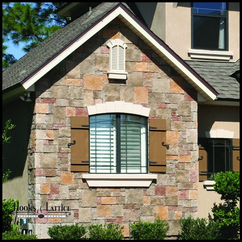 Vinyl Board And Batten Shutters Are A Durable No