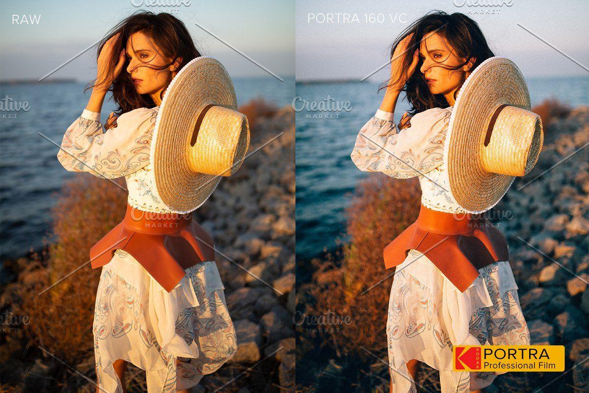 Kodak portra lightroom preset