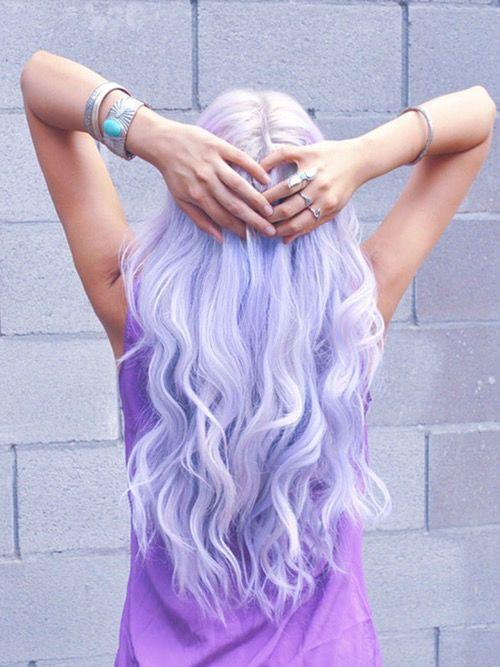 Attractive Light Purple Hair Hair Purple Hair Long Hair Curly Hair Hairstyles Colored Hair  Hair Colors Hair Ideas Hair Trends