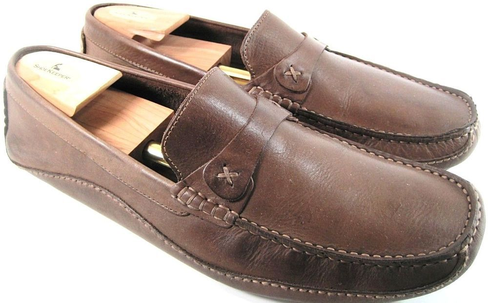 744fa91c Clarks Men Driving Shoes Size 13 M Brown Euro Size 46 Style 77907 ...