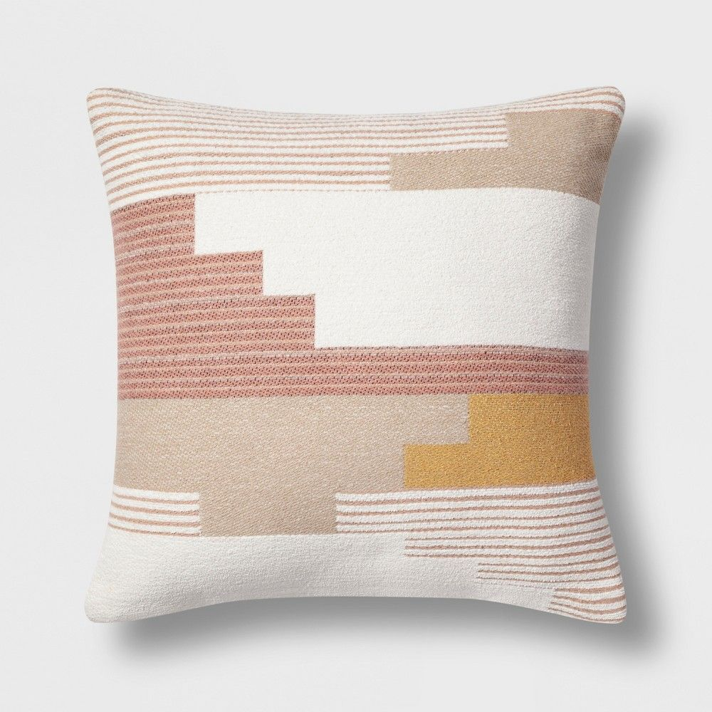 Southwest Geo Square Throw Pillow Project 62 Multi Colored
