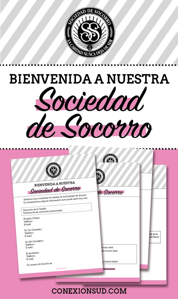 Bienvenida Al Barrio Y A La Sociedad De Socorro Soc Soc Sociedad
