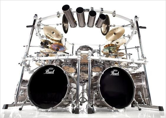 mike mangini (front)