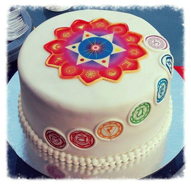 Chakra Birthday Cake