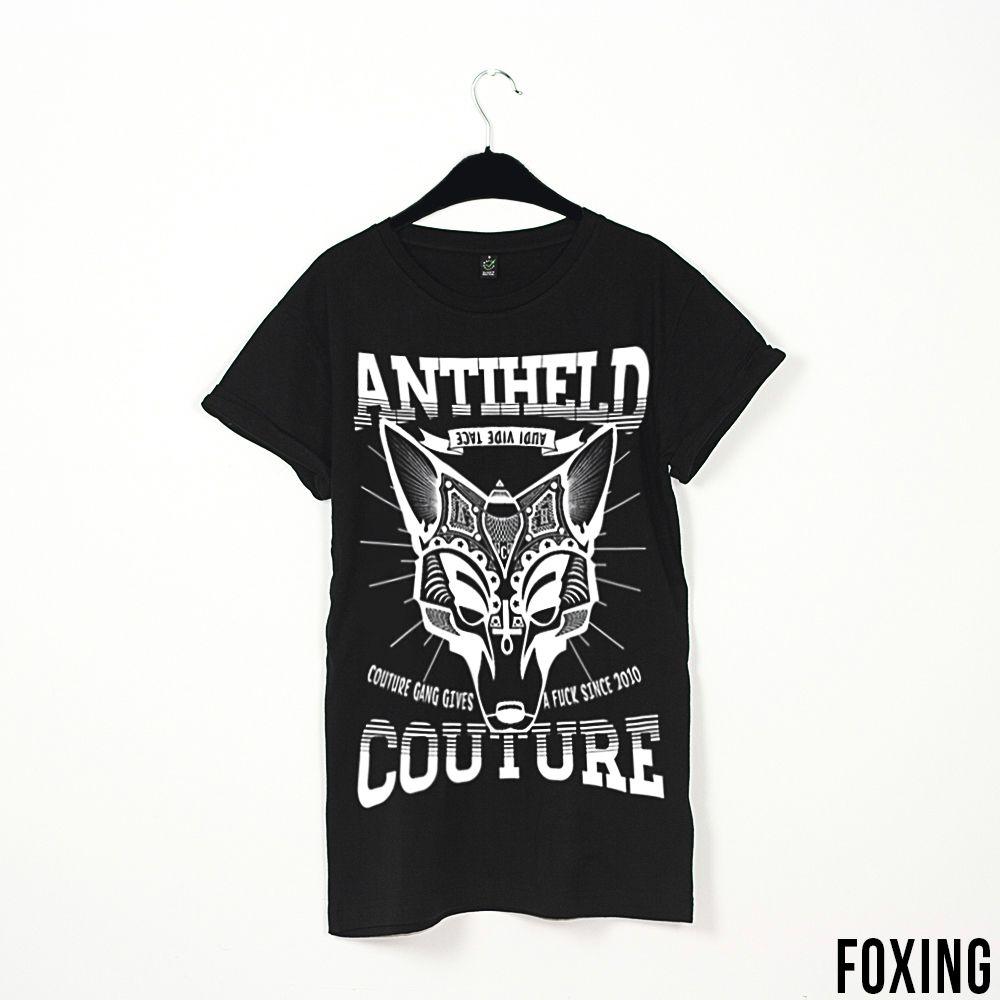 Foxing // http://antiheld-couture.com/shop/unisex-shirts/127-antiheld-foxing-t-shirt-schwarz.html