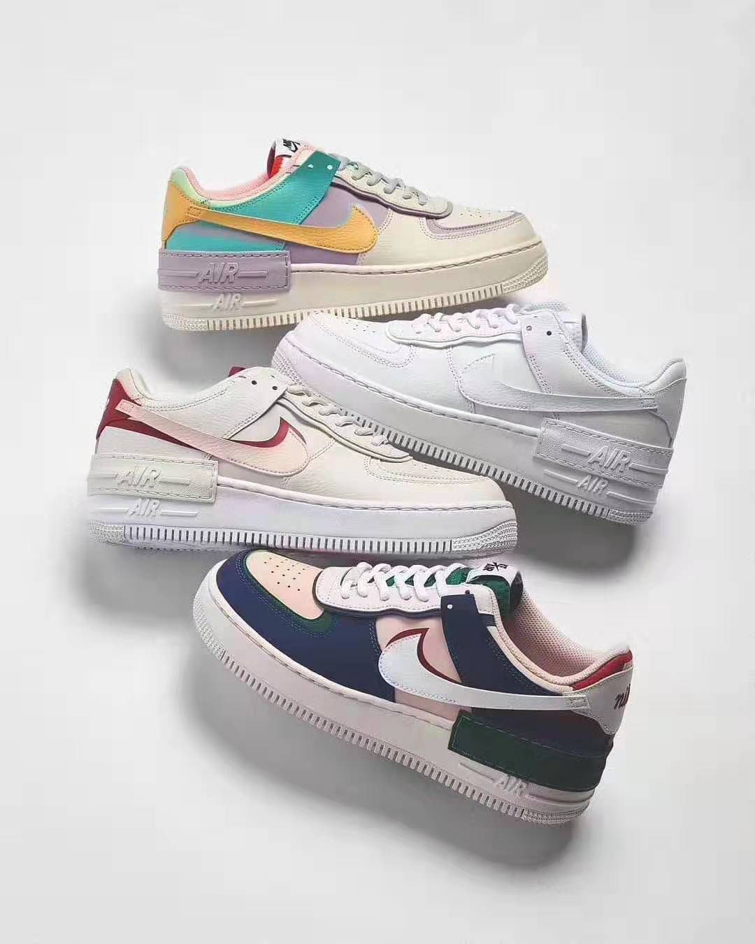 Nike Air Force 1 Easter Vibes Shadow Pale Ivory CI0919 101