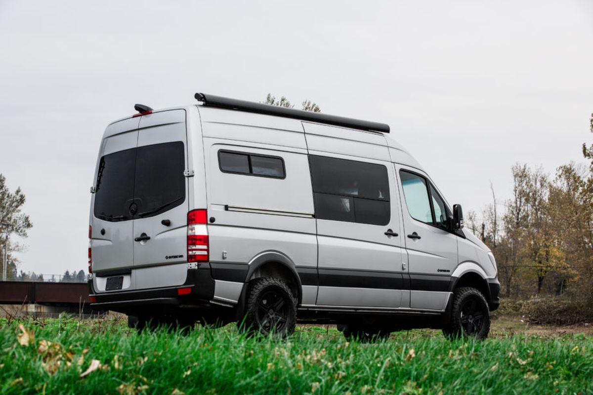 43 Awesome Smart Camper Van Conversion Inspirations For You