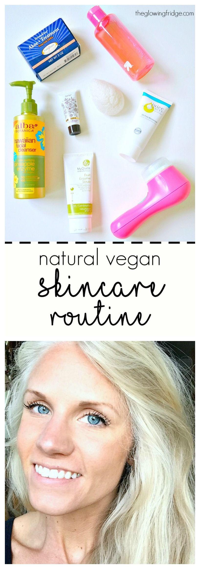 My Natural Vegan Skincare Routine Vegan Skincare Routine Vegan Skincare Natural Skin Care