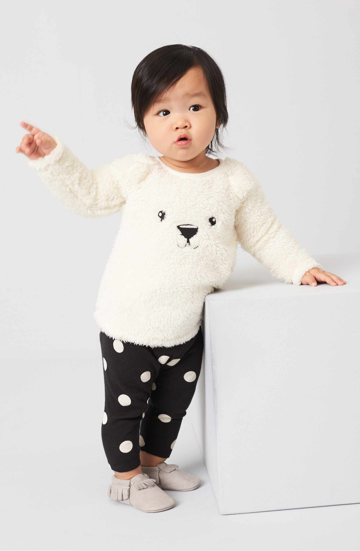 Main Image Nordstrom Baby Animal Tunic & Leggings Set Baby Girls
