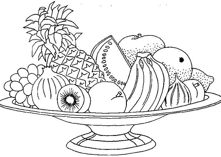 Pin De Malusita San En Ai Frutas Para Colorear Dibujos De Frutas Verduras Dibujo