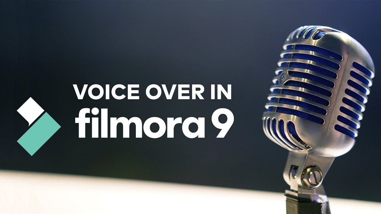 How To Record Voice Over Fast With Filmora9 In 2020 The Voice Video Editing Software Film Equipment