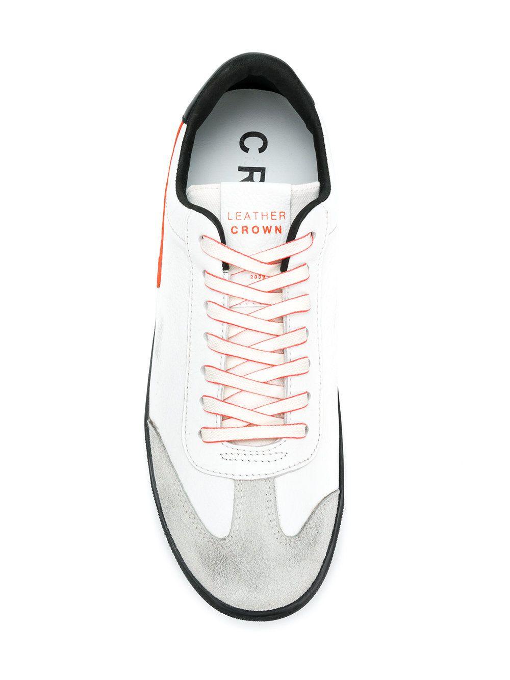 11c8d6ebe4d9 https   www.farfetch.com shopping men leather-crown-cervo-sneakers ...