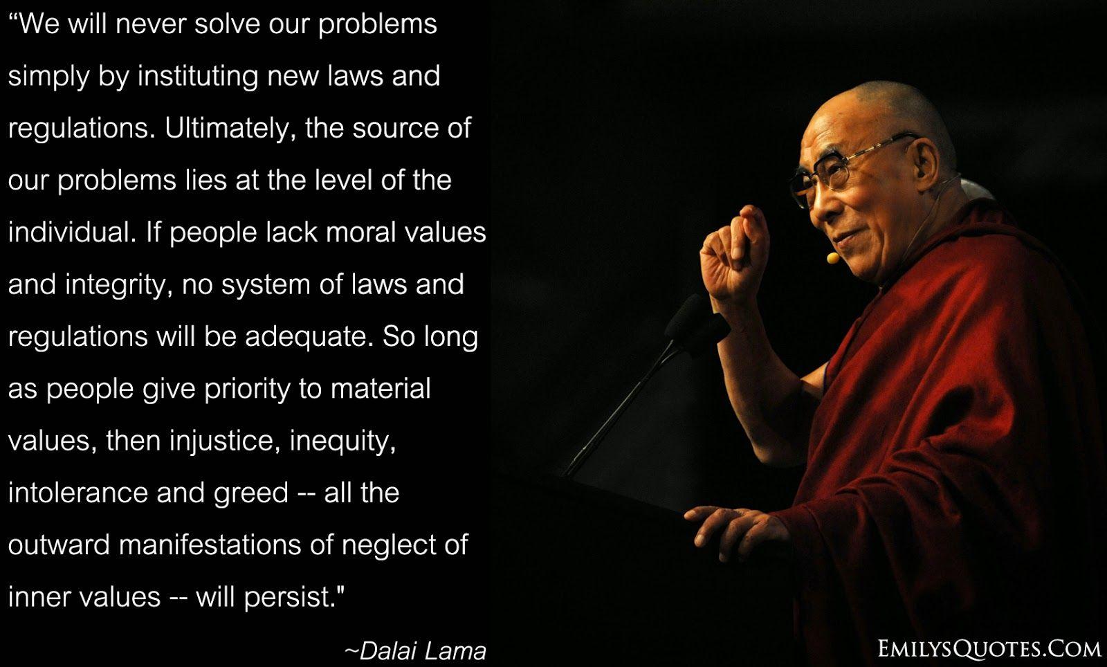 Dalai Lama Wisdom Quotes | Wise Motivational Inspirational Quotes ...