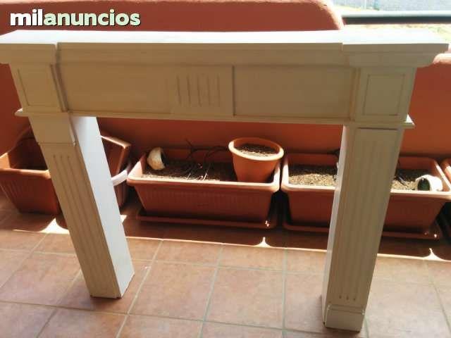 Marcos de chimenea falsa para decoracion foto 1 - Marco de chimenea ...