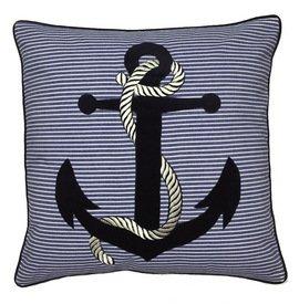 Anchor Throw Pillow Nautical Pillow