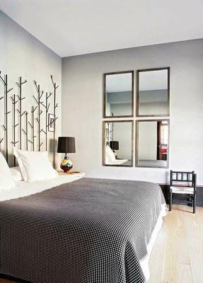 Cuatro pasos para que tu dormitorio parezca m s grande for Espejo grande dormitorio