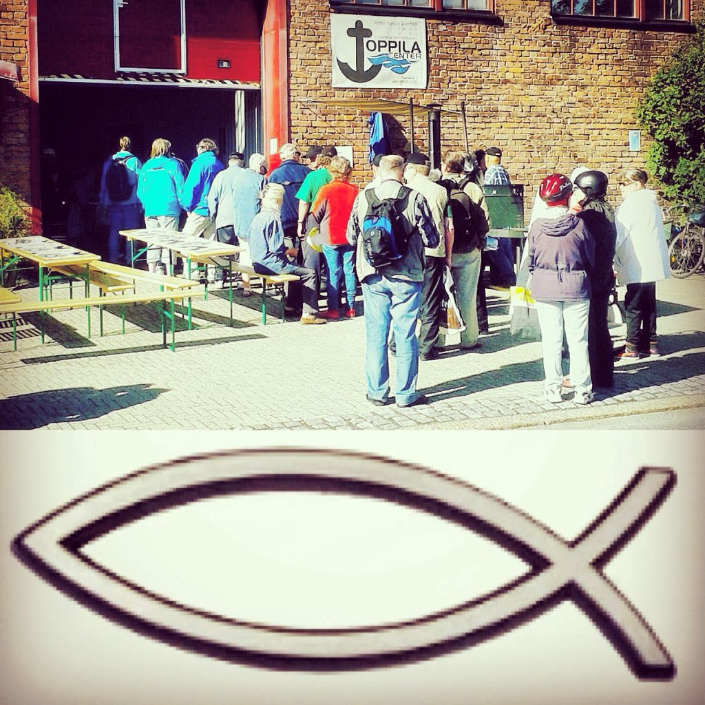 La 26.9. klo 11 Soppaa ja Evankeliumia Toppilassa. Tervetuloa!  #tuutykille #toppila #rukous #ruokaapu
