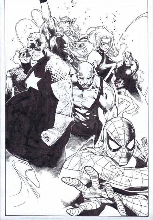 Avengers by Olivier Coipel *