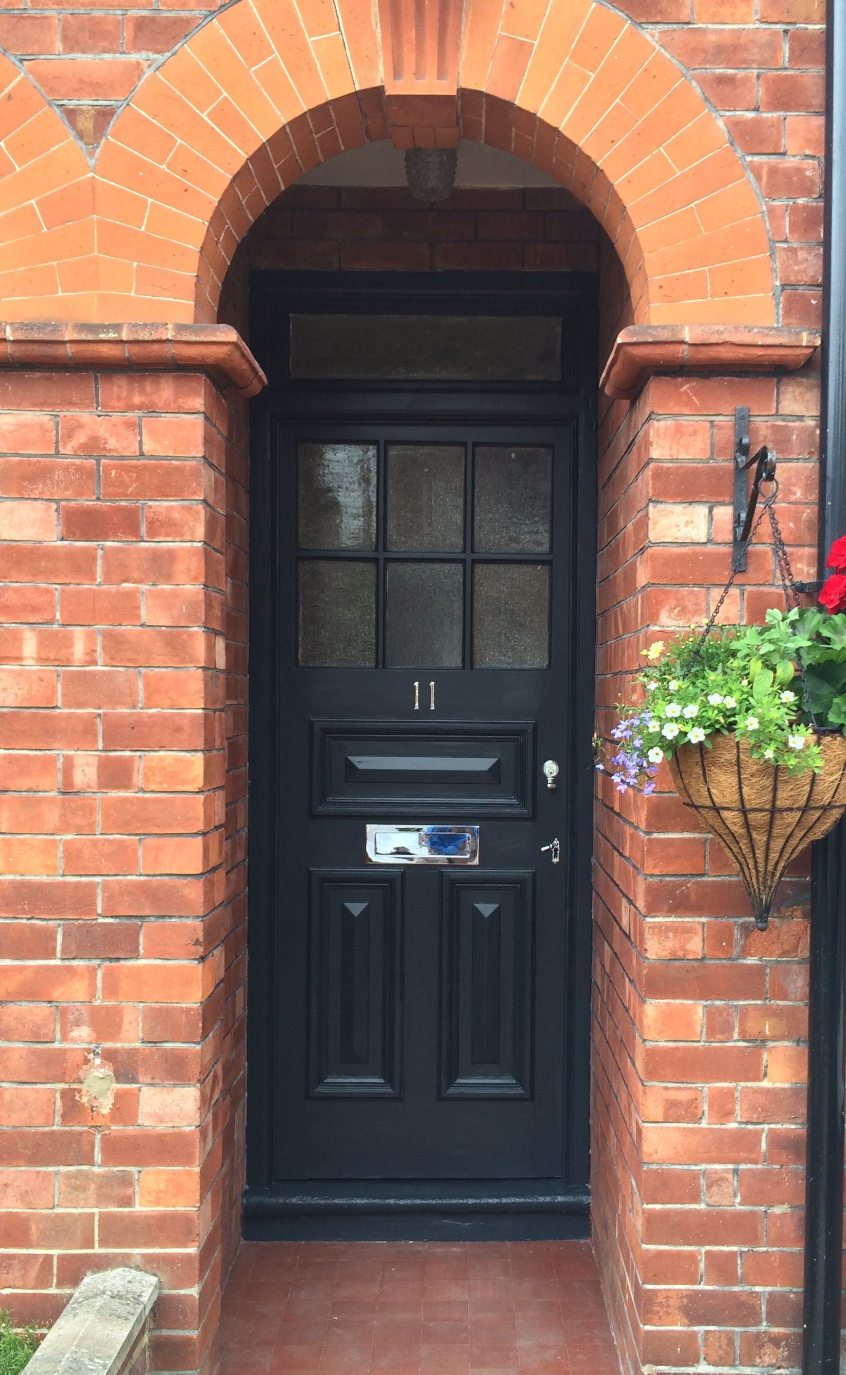 Best Front Door Painted In Farrow Ball Railings Brick Pinterest Farrow Ball Front Doors And 400 x 300