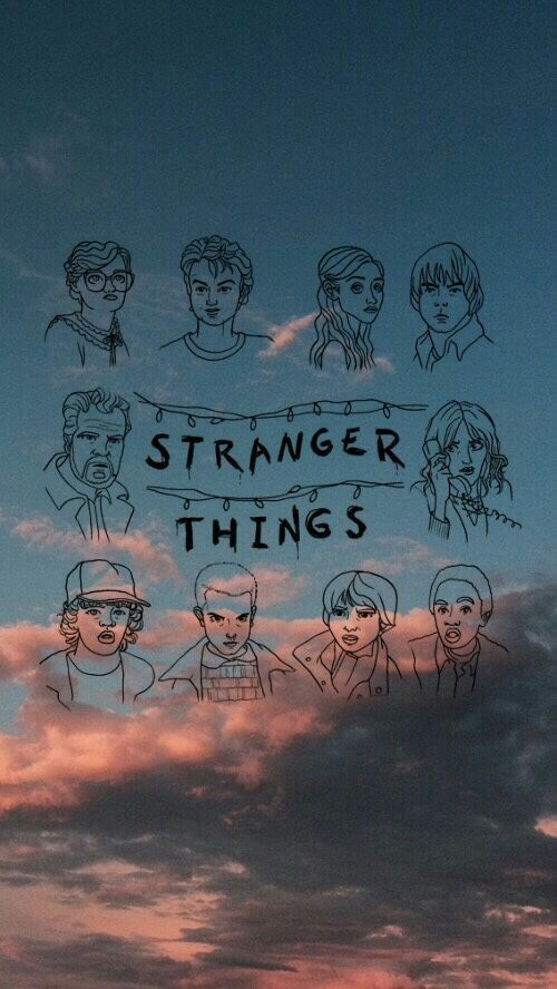 Lockscreen Stranger Things • lockscreens / wallpapers