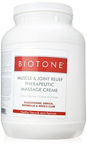 Biotone Muscle Joint Relief Creme 128 Ounce 1 Gallon ...