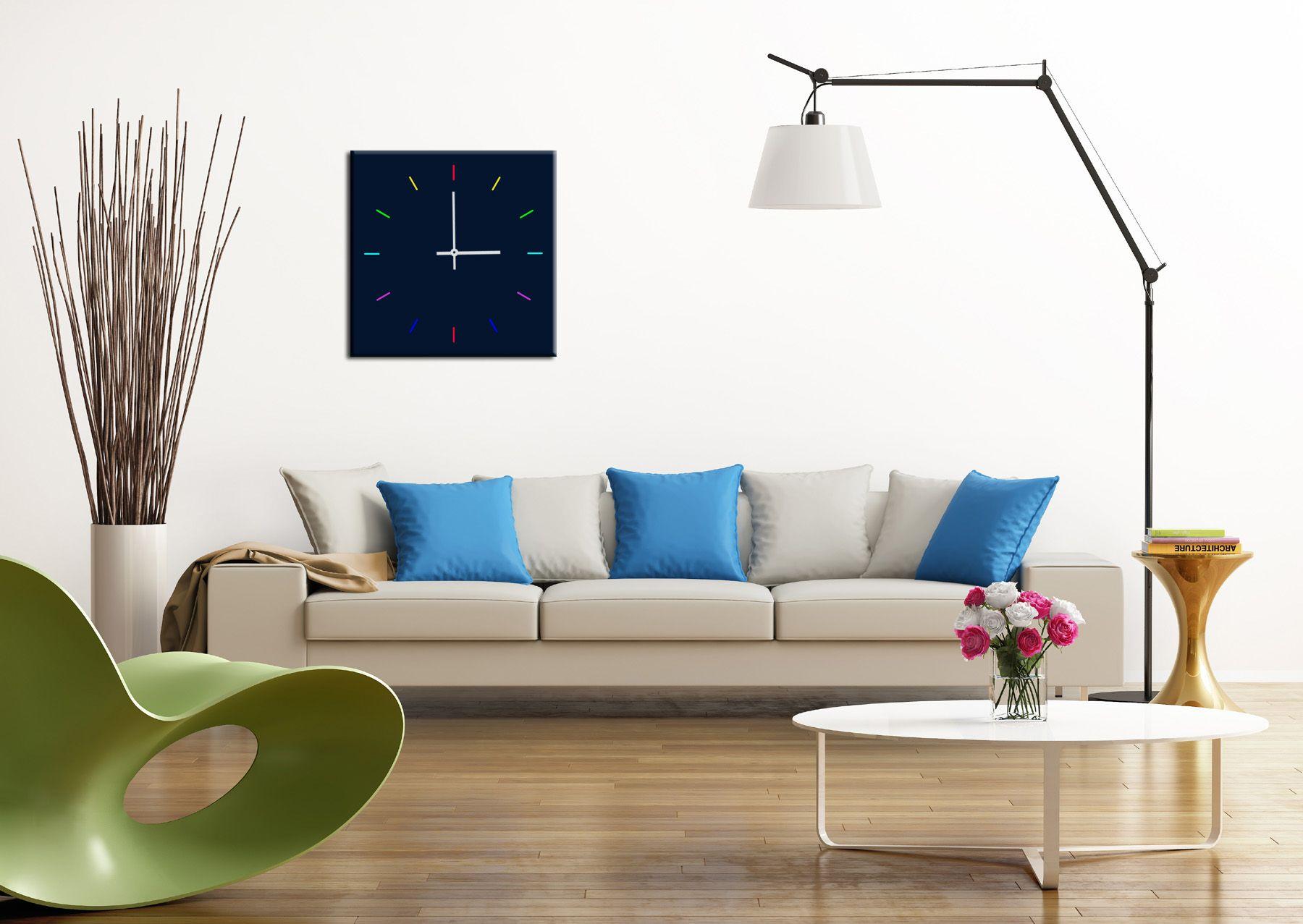 orologio da parete 50 x 50 cm. in plexiglass Arredamento
